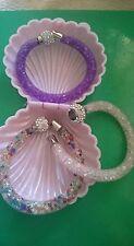 Modeschmuck-Armbänder aus Edelstahl mit Strass-Perlen für Damen