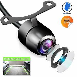 170° CMOS Car Front/Side/Rear View Reverse Backup Night Vision Parking Camera HD