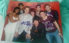 Adam Lambert+Cast Signed 8X10 Photo American Idol Season 8 Top 8 W/Coa+Proof