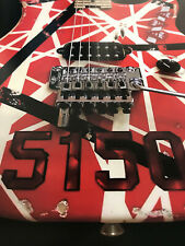 "Van Halen poster of 5150 Frankenstrat Red VH Eddie guitar 16"" x 24"" wide sharp!"