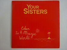 YOUR SISTERS feat. DEBBIE DAVIS : EDEN IS A MAGIC WORLD ♦ CD Single ♦