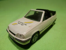 GAMA  1:43  OPEL KADETT GSI -  125 JAHRE OPEL   CABRIOLET  -  IN GOOD CONDITION
