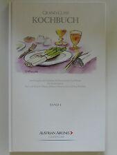 Grand Class Kochbuch Karl R Obauer Helmut Österreicher Austrian Airlines Band 1