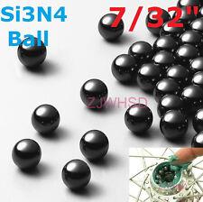 "10pcs 7/32"" 5.556mm Silicon Nitride Ceramic Si3N4 Bearing Balls for Bike Replace"