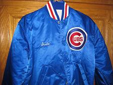 CHICAGO CUBS VINTAGE 80'S Starter Jacket Satin MLB (LARGE)   2016 W.S. CHAMPS