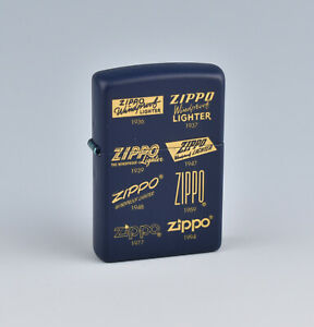 Zippo 80th Anniversary Planeta Series Lighter - #30 Zippo Logos 1979