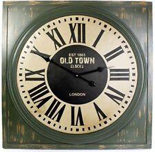 Reloj Pared Cuadrado ~ est 1863 Old Town relojes de Londres