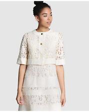 Manteaux et vestes blanc coton pour femme, taille 42