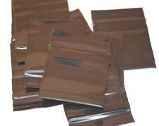 200 Stück ZIP PE Beutel 35x35mm schwarz extrastark - Stärke: 90µ  - Beutelchen