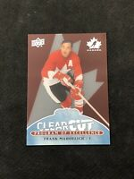 2017-18 UPPER DECK TEAM CANADA FRANK MAHOVLICH CLEAR CUT PROGRAM EXCELLENCE  #29