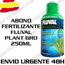 ABONO FERTILIZANTE PARA PLANTAS DE ACUARIO FLUVAL PLANT GRO 250ML GAMBARIO