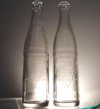 2 SOUTHERN BEVERAGES 8 OZ SODA BOTTLES (GAINESVILLE & ATHENS, GA) ONE WITH ERROR