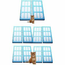 Replacement Water Filter Cartridges for Cat Mate & Dog Mate Fountains x 10 Pack