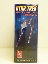 "Amt 1:187Th Scale U/A ""Star Trek"" Vulcan Shuttle Surak Plastic Model Kit #641"