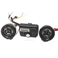 12V Motorcycle Audio System FM Radio Stereo Amplifier Speaker MP3 Waterproof New