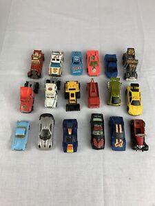 Lot Of 18 Vintage Die Cast Toy Cars / 70's 80's Matchbox & Hot Wheels
