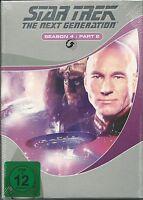 Star Trek Next Generation Season 4.2 NEU OVP Sealed Deutsche Ausgabe