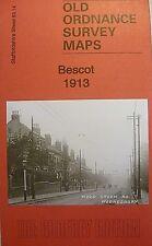 Old Ordnance Survey Detailed Map Bescot Staffordshire  1913 Sheet 63.14