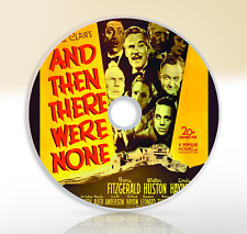 And Then There Were None (1945) DVD Mystery Classic Film Barry Fitzgerald