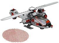 LEGO CYBORG ATTACK HELICOPTER 76098 BUILD ONLY VGC - DC JUSTICE LEAGUE