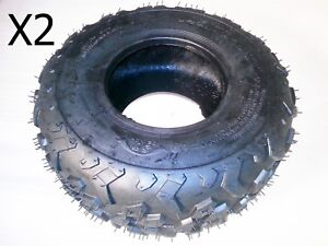 TQU03X2 SET OF 2 X QUAD BIKE TYRES 145/70-6  FOR 50CC-110CC  ORION & SUZUKI LT5