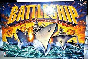 Battleship the Classic Naval Combat Game Milton Bradley Hasbro 2002
