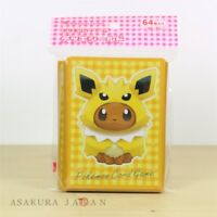 Pokemon Center Original Card Game Sleeve Eevee Poncho Series Jolteon 64 sleeves