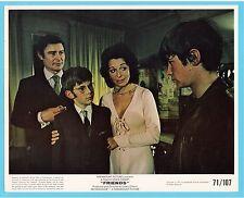 Friends Sean Bury Anicée Alvina 1971 Movie Film Press Photo