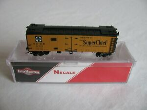 InterMountain N Scale Santa Fe 32385 Super Chief Reefer Box Car #66109-33