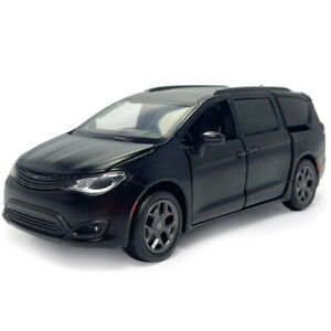 1/32 Chrysler Pacifica MPV Model Car Diecast Toy Vehicle Kids Gift Sound Black
