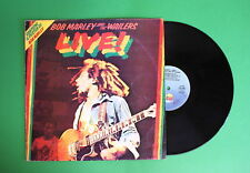 Bob Marley and the Wailers - Live - Island ILPS 19376 + Poster