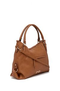 Jessica Simpson Claireen Tote Bag color: Cognac-Kecog JS53216 retail $108