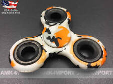 BUY 2 GET 1 FREE!  Fidget Hand Spinner Finger Cube Toy Metal Camo Stress Relief