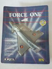 ERTL FORCE ONE 1039 EFA Euro Fighter Plane 1989 Die Cast Model NEW