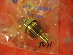 CHEVROLET-GMC- TRUCKS-  1979-92 OEM 8993106- Engine Coolant Temperature Sender