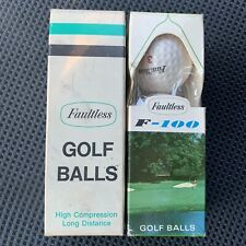 Vintage 2 Sleeves Of 3 Faultless F-100 And High Compression Long Dist Lot Of 6
