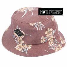 Kooringal - Coastal Men's Burgundy Bucket Hat
