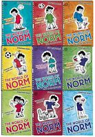 Jonathan Meres The World of Norm 9 Books Collection Set