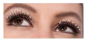 Vintage Hollywood Stick on Eyelashes Women's Make up Costume Accessory