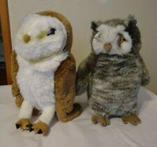 Harry Potter plush lot Barn Owl & Pigwidgon Universal Studios Wizarding World