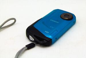 Polaroid  WATERPROOF Camcorder - Blue 3 Meter HD 16gb Card X720