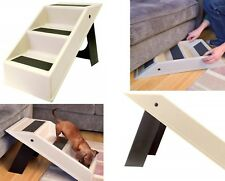 Folding Pet Steps Dog Cat Portable Lightweight Travel Stairs Store Away Car