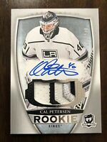 2018-19 18/19 The Cup Cal Petersen Patch Auto /249 RC Rookie *Nice Patch & Auto*