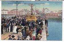 Postal Semana Santa en Sevilla Cristo de la Expiración Puente Triana (CM-203)