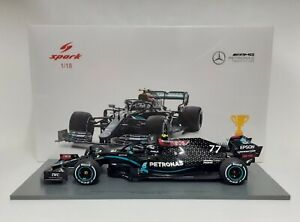 Model Car Scale 1:18 Mercedes AMG F1 Bottas Austria 2020 Spark Modeling