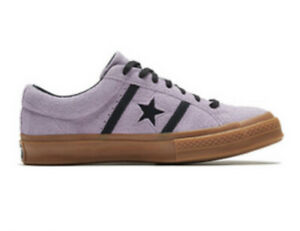 New Converse Mens 11 One Star Academy Ox Dusty Lilac Black Gum 165950C Sneakers