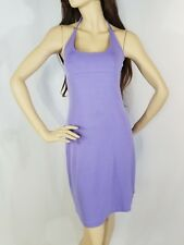 Guess Jeans Purple Sleeveless Mini Halter Dress Size L