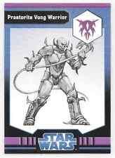 2009 Star Wars Miniatures Ja Praetorite Vong Warrior Stat Card Only #39