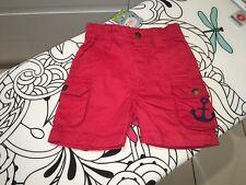 Frugi Little Explorer Shorts 3-6mths