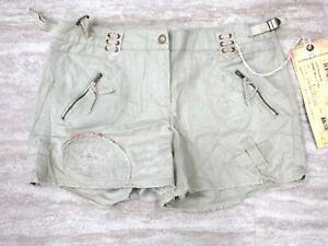 NEW Da Nang Women's Raw Hem Pockets Mastic Shorts CLT52341742 SMALL/ S